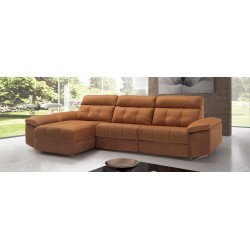 Sofá  extensible, fondo 80 cm.